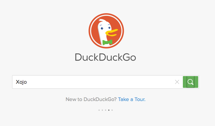 DuckDuckGo Search Xojo