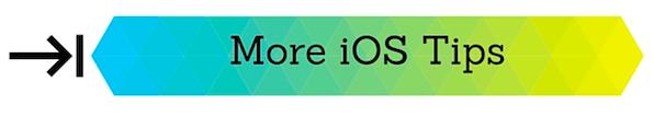 Xojo iOS Tips