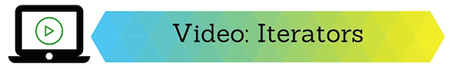 Watch Iterators Video
