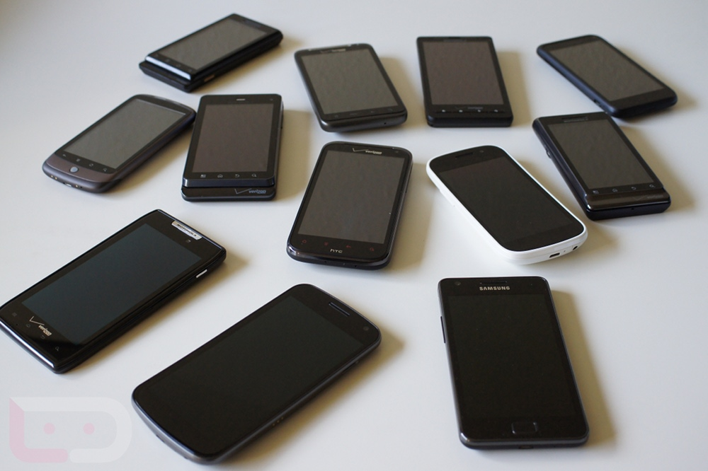 Many android phones