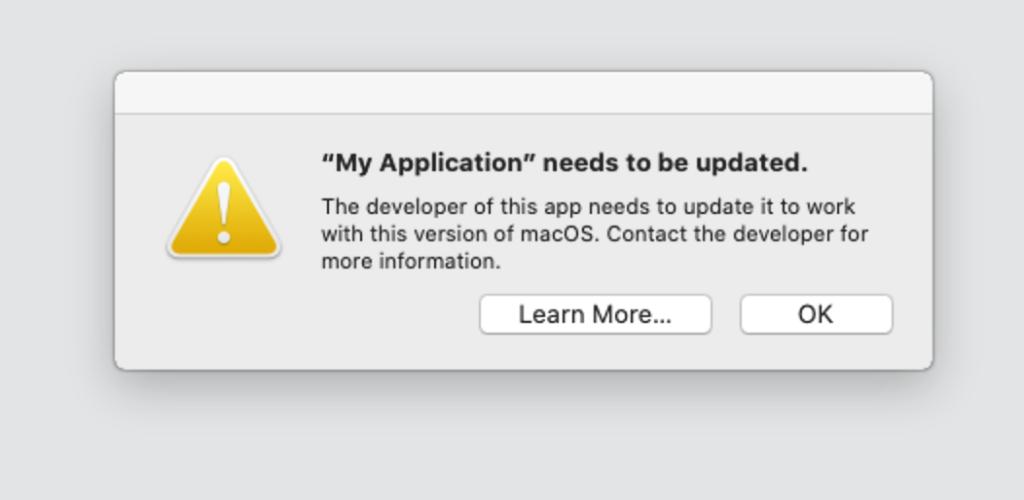macOS Catalina: 32-bit is Dead! – Xojo Blog